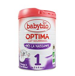 【18年12月到期】伴宝乐BABYBIO OPTIMA 近母乳型1段900克6罐装