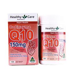 澳洲药房直供 Healthy Care Q10辅酶150mg 胶囊100粒