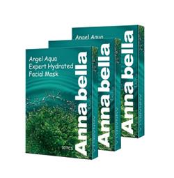 泰国Annabella海藻面膜补水保湿提亮肤色深海矿物纯天然 10片装