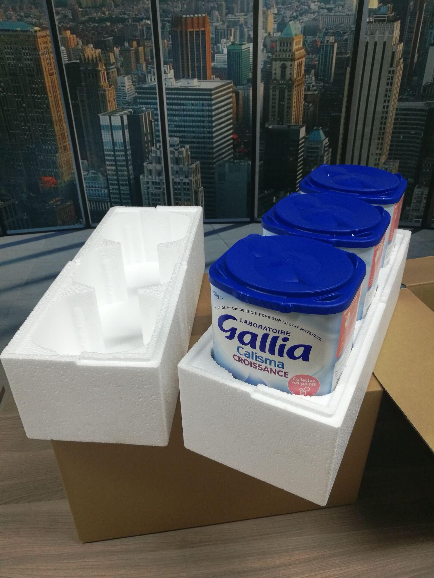 奶粉专用泡沫箱加固