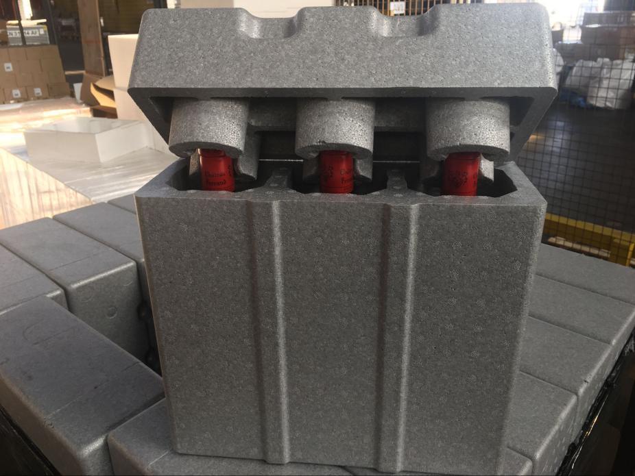 红酒专用泡沫箱加固