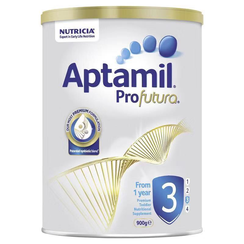 【6罐装】澳洲药房直邮爱他美Aptamil 白金版婴幼儿奶粉3段(12个月以上)900g×6罐