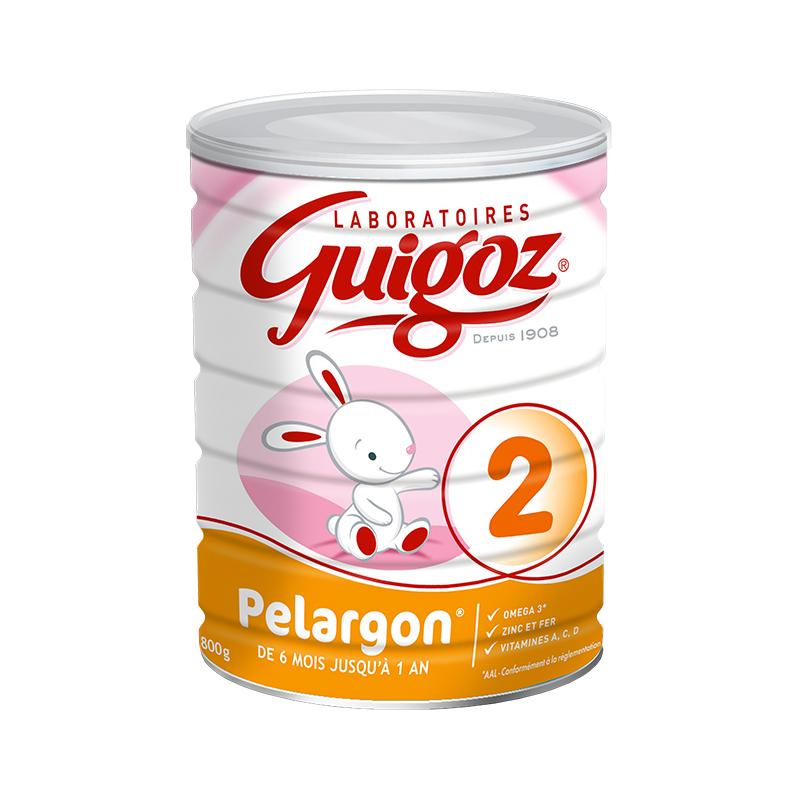 【 6罐装】法国直邮Guigoz 古戈氏助消化2段 800G