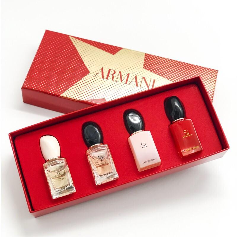 【国内现货】意大利Armani阿玛尼挚爱真情流露香水礼盒4x7ml