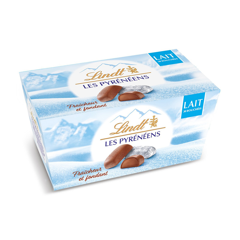 【法国直邮包邮包税】十二盒装 法国本土 瑞士莲冰山巧克力 30粒/盒(牛奶口味)