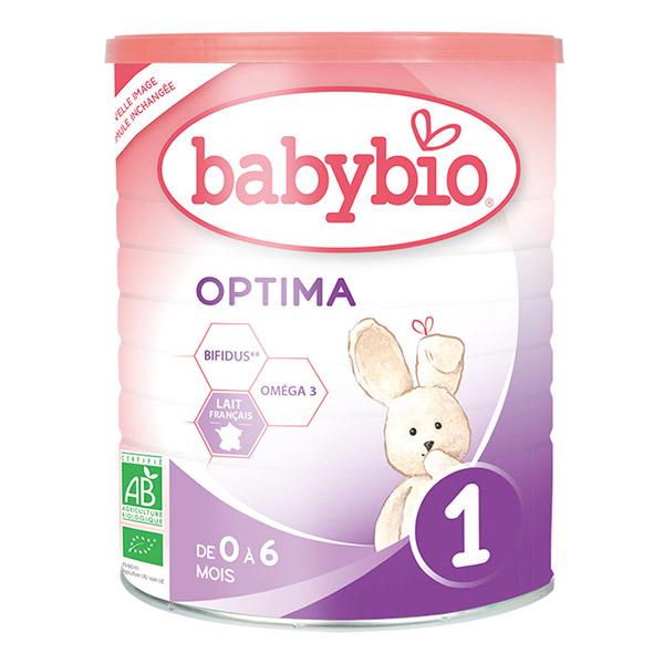 【法国直邮包邮包税】伴宝乐BABYBIO OPTIMA 近母乳型1段900克6罐装