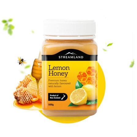 新西兰 Streamland新溪岛天然柠檬蜜 540g 澳洲直邮
