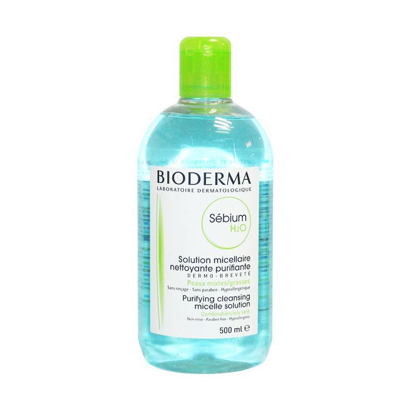 【1瓶装】法国贝德玛Bioderma净妍洁肤控油卸妆水500ml