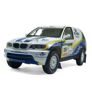 【现货】SOLIDO  宝马X5 达喀尔拉力赛版 汽车模型