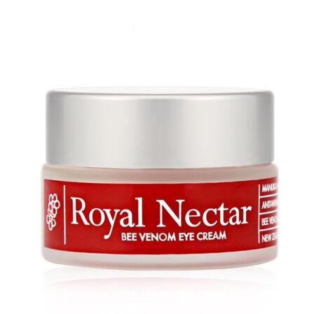【2件装】新西兰Royal Nectar蜂毒眼霜 15ml*2 抗皱保湿紧致淡化细纹黑眼圈脂肪粒 包邮包税