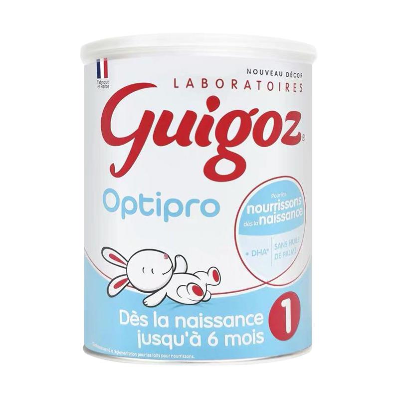 【 6罐装】法国古戈氏Guigoz标准型1段800g 适合新生-6个月宝宝