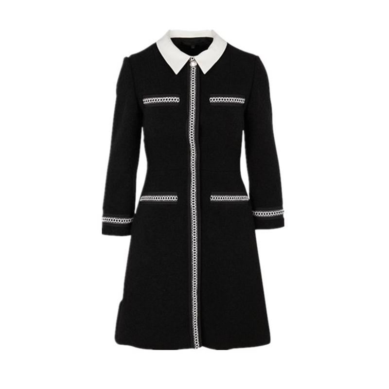 【国内现货】法国Maje 羊毛针织连衣裙