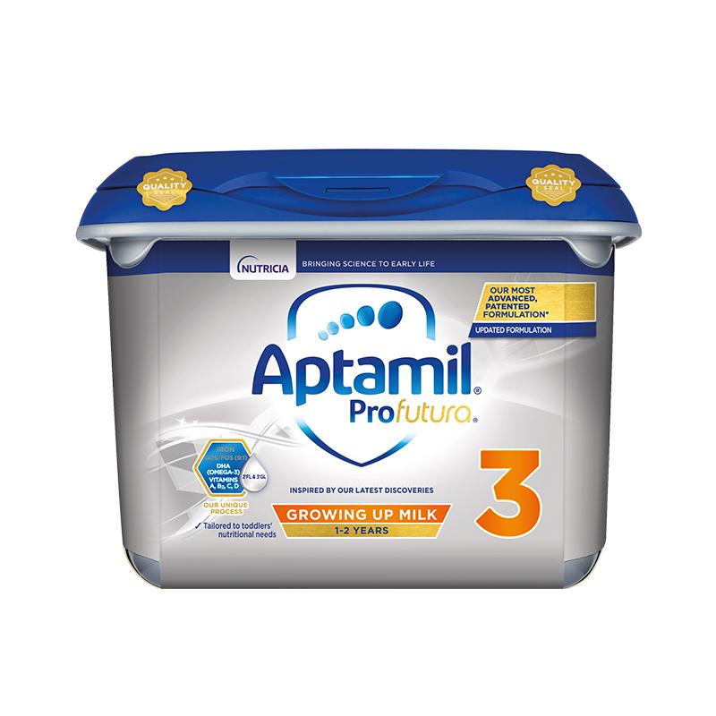 【欧洲直邮包邮包税】Aptamil英国爱他美白金版婴幼儿奶粉3段 800gx6罐