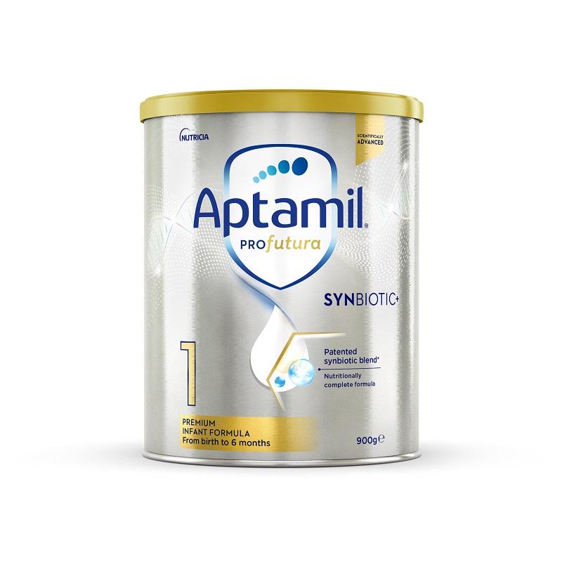 【3罐装】澳洲药房直邮爱他美Aptamil 白金版婴幼儿奶粉1段(0-6个月)900g×3