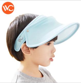 <蓝色>韩国VVC儿童防晒帽 防紫外线