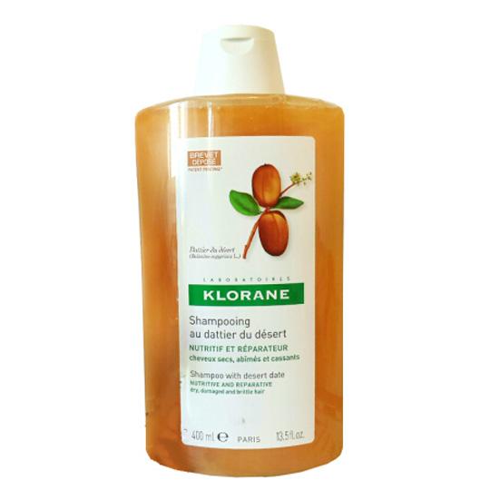 【国内现货】康如(Klorane)寇罗兰 椰枣修护滋养洗发水400ml