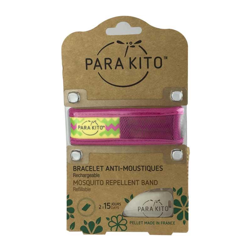 【国内现货】帕洛Para Kito驱蚊手环 紫色条纹(成人版),往下拉可查看花色图案,下单请备注花色,默认发图案色