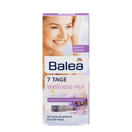 【国内现货】德国Balea/芭乐雅 七日保湿玻尿酸 安瓶7只 紫盒