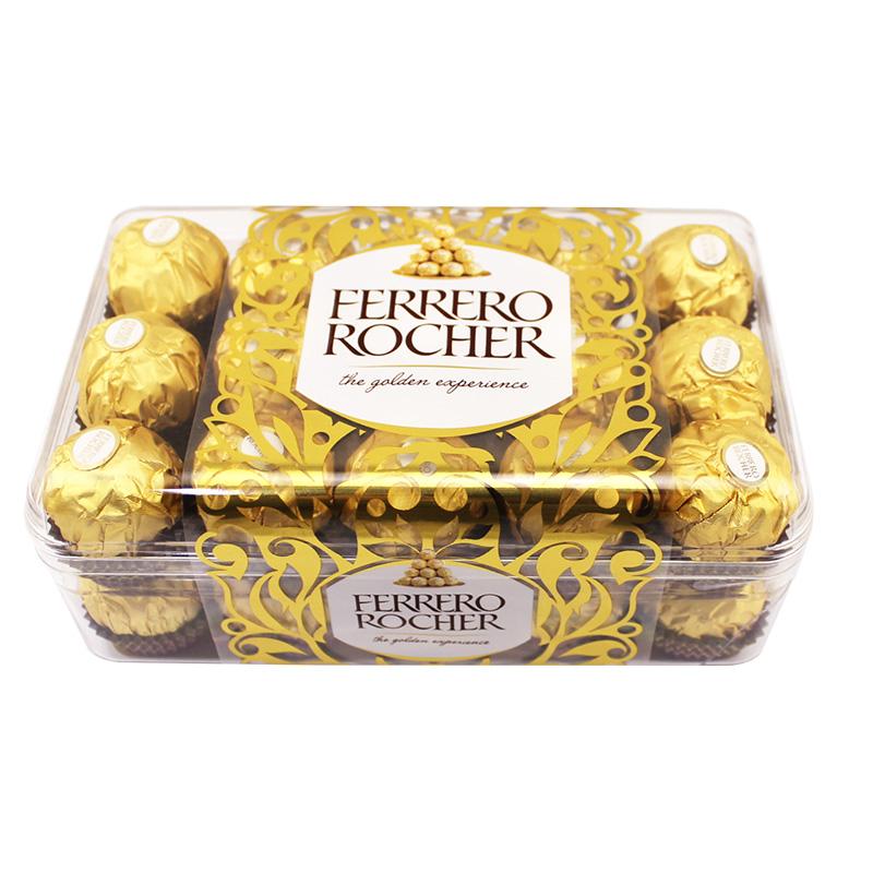 费列罗巧克力16粒金莎巧克力200g