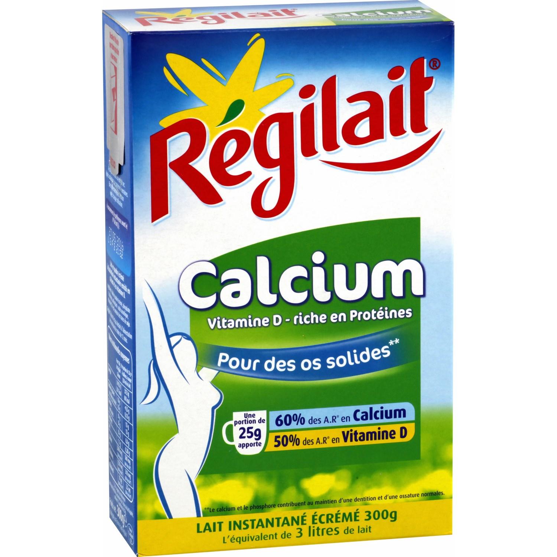 【直邮包邮包税】Régilait瑞记高钙脱脂成人奶粉300g 10盒装