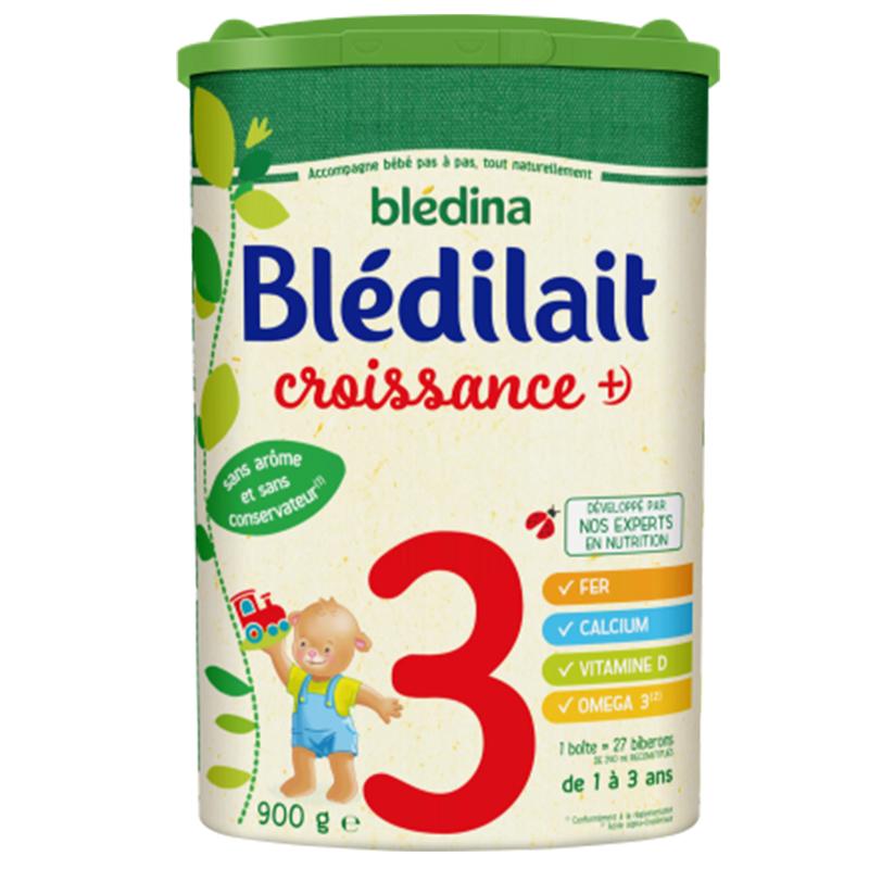 【法国直邮包邮包税】法国bledina贝乐蒂 三段标准900g 6罐装