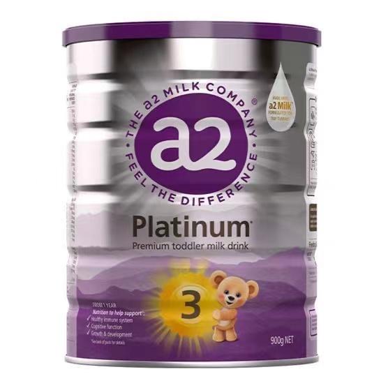 【3罐装】直邮包邮包税 a2 Platinum 白金版婴幼儿奶粉3段900g(1-3岁)
