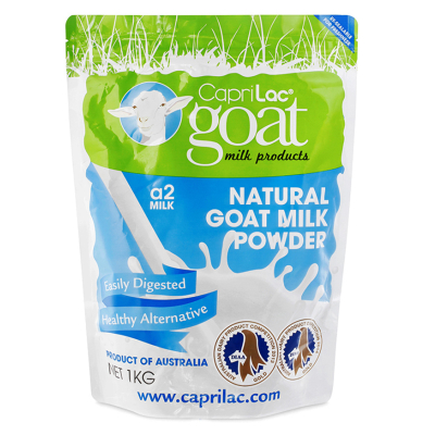 【6袋装】澳洲直邮包邮包税 A2 Caprilac Goat成人羊奶粉 1kg/袋×6袋