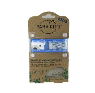 【国内现货】帕洛Parakito 驱蚊儿童手环(图为蓝色小熊)(儿童款)