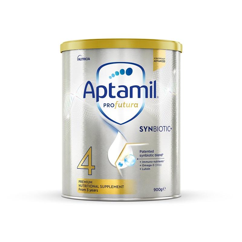 【3罐装】澳洲药房直邮爱他美Aptamil 白金版婴幼儿奶粉4段(2岁以上)900g×3