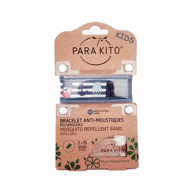 【国内现货】帕洛Parakito 驱蚊手环蓝色条纹(儿童版)