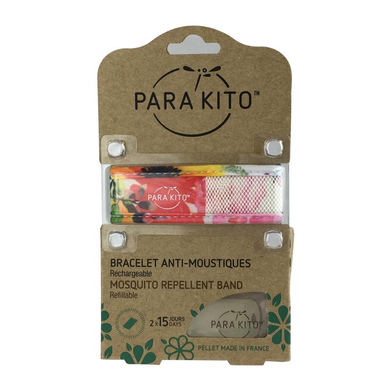 【自由组合5个起】【国内现货】帕洛Para Kito驱蚊手环成人款 ( 图为鲜花版)(成人款)