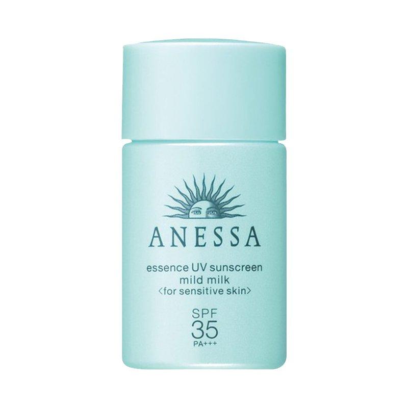 【香港直邮】日本Shiseido资生堂ANESSA安耐晒儿童敏感肌防晒霜 SPF35 20ml