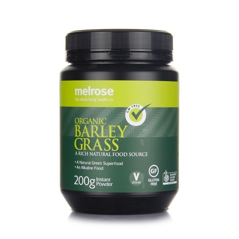 【新品上新】Melrose麦萝氏 澳洲有机大麦草粉 绿瘦子大麦草 200g