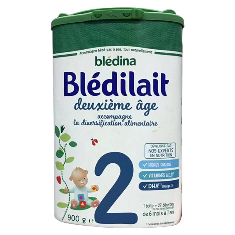 【法国直邮包邮包税】法国bledina贝乐蒂二段标准900g 6罐装