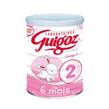 法国直邮 古戈氏Guigoz标准型2段-900G 6罐