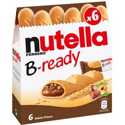 【超市拼单】nutella B-ready榛子巧克力夹心饼干