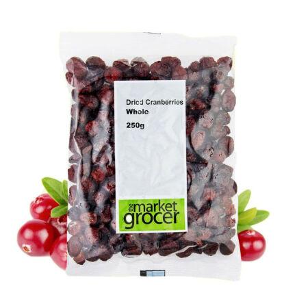 澳洲直邮 The Market Grocer 澳洲进口零食品 蔓越莓干250g