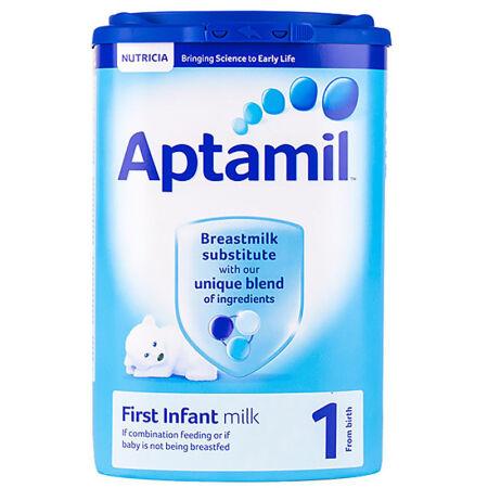 【6罐装】Aptamil 英国爱他美 婴儿奶粉 1段 900g ×6罐 0-6个月适用