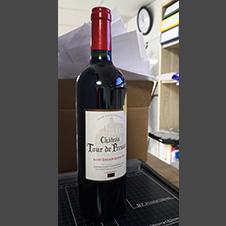 【6瓶装】2013年Château Tour de Pressac 比萨酒庄 宝石城堡 副牌 干红750ml