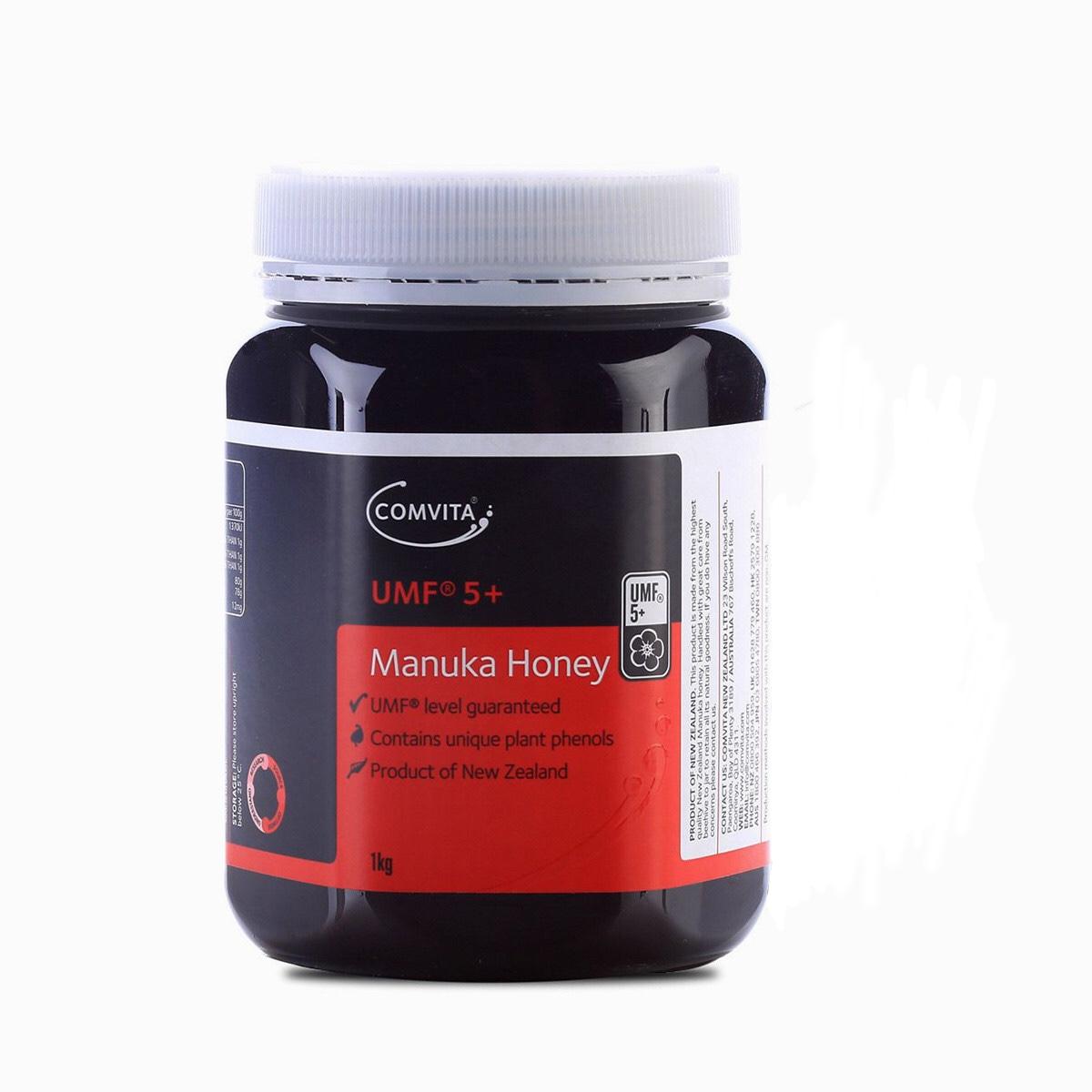 Comvita 康维他天然澳洲进口麦卢卡花蜂蜜 UMF5+1kg