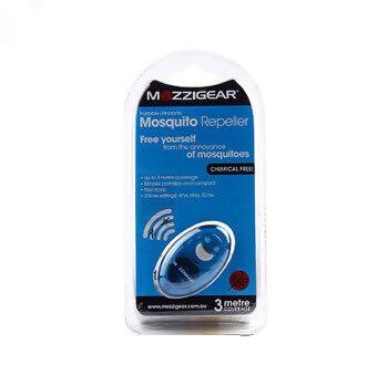 【澳洲直邮包邮包税】澳洲Mozzigear移动超声波电子驱蚊器 蓝色