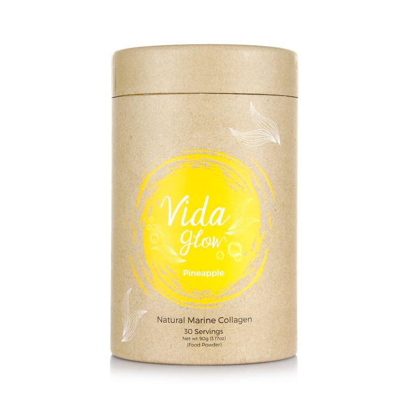 【新品上线】Vida Glow 菠萝深海鱼胶原蛋白粉 90克 30小包