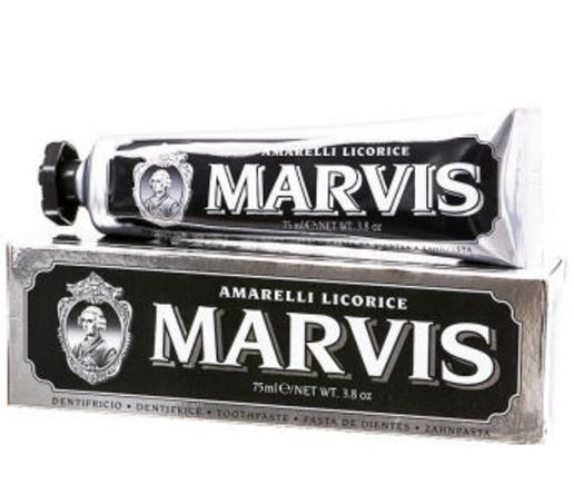 MARVIS 玛尔斯 黑色甘草薄荷牙膏 75ml