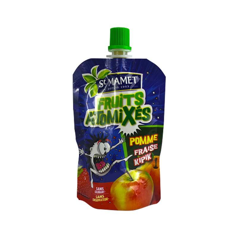 【国内现货】St mamet 圣宝尼草莓苹果果泥 POMME PRAISE 90g