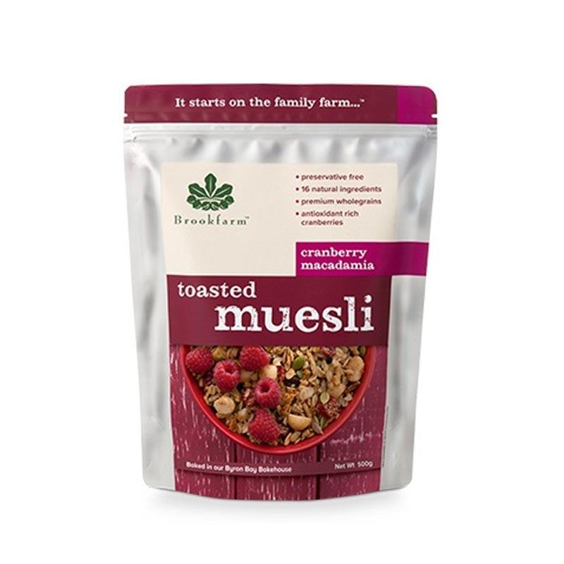 【国内现货】澳洲进口Brookfarm燕麦片美味营养早餐水果坚果混合土豪麦片1.5kg