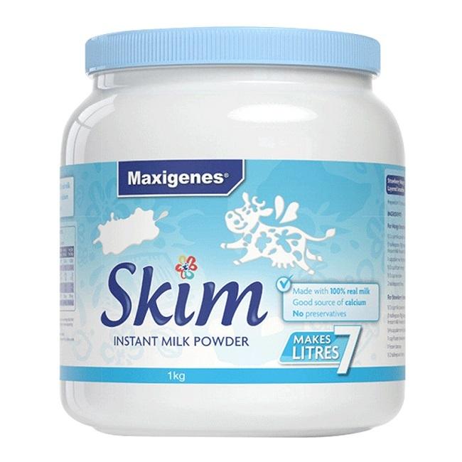 【中文标】澳大利亚美可卓脱脂牛奶粉1kg