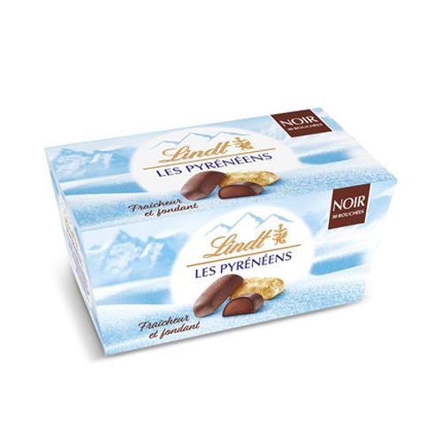 【法国直邮包邮包税】十盒装 法国直采 瑞士莲冰山巧克力 30粒/盒(黑巧克力口味)