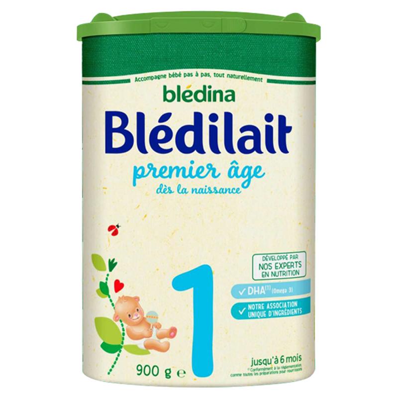 【法国直邮包邮包税】法国bledina贝乐蒂 一段标准900g 6罐装