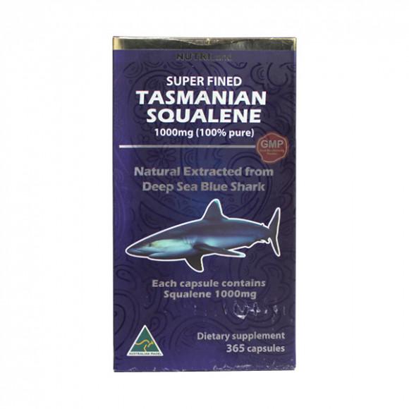【2件装】澳洲富莱NUTRILand 塔斯马尼亚蓝鲸鲨鲛鲨烯 365粒/瓶 100%纯