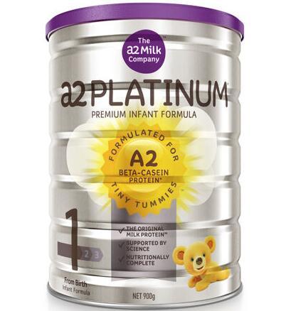 澳洲直邮包邮包税 a2 Platinum 白金版婴幼儿奶粉1段900g(适合0-6个月宝宝)